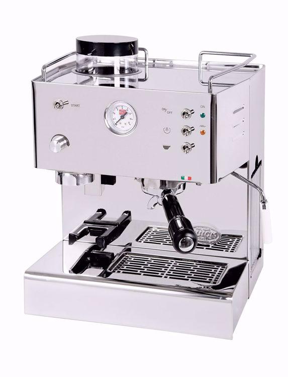 Afbeeldingen van Quick Mill 3035 met geïntegreerde koffiemolen